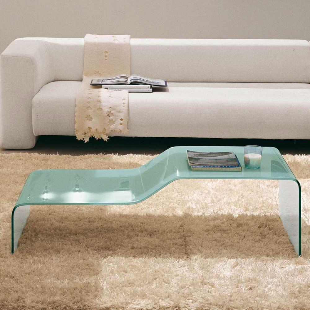 Table basse design à 2 niveaux