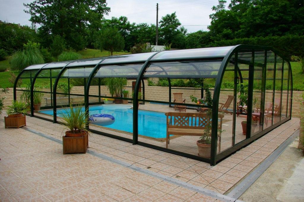 abri pour piscine 8x4