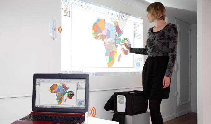 vidéoprojecteur tableau interactif