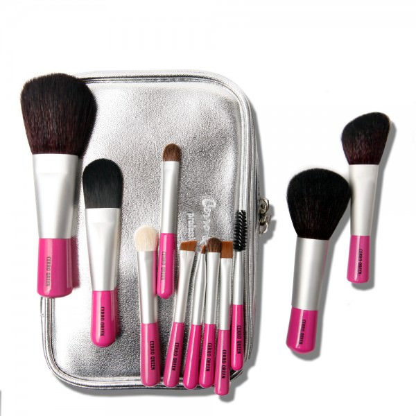 Mini kit 11 Pinceaux de maquillage - So Cute