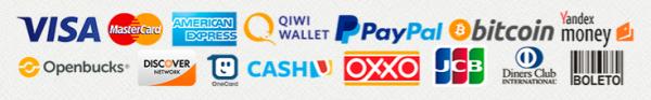 Les modes de paiement disponibles