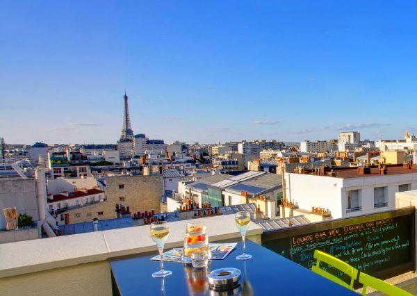 Novotel Paris Vaugirard Montparnasse Rooftop