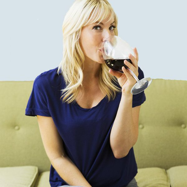 Boire du vin avant de dormir