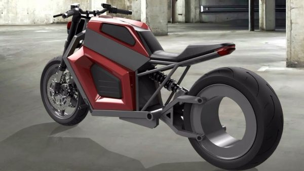 Un vélo motorisé très futuriste