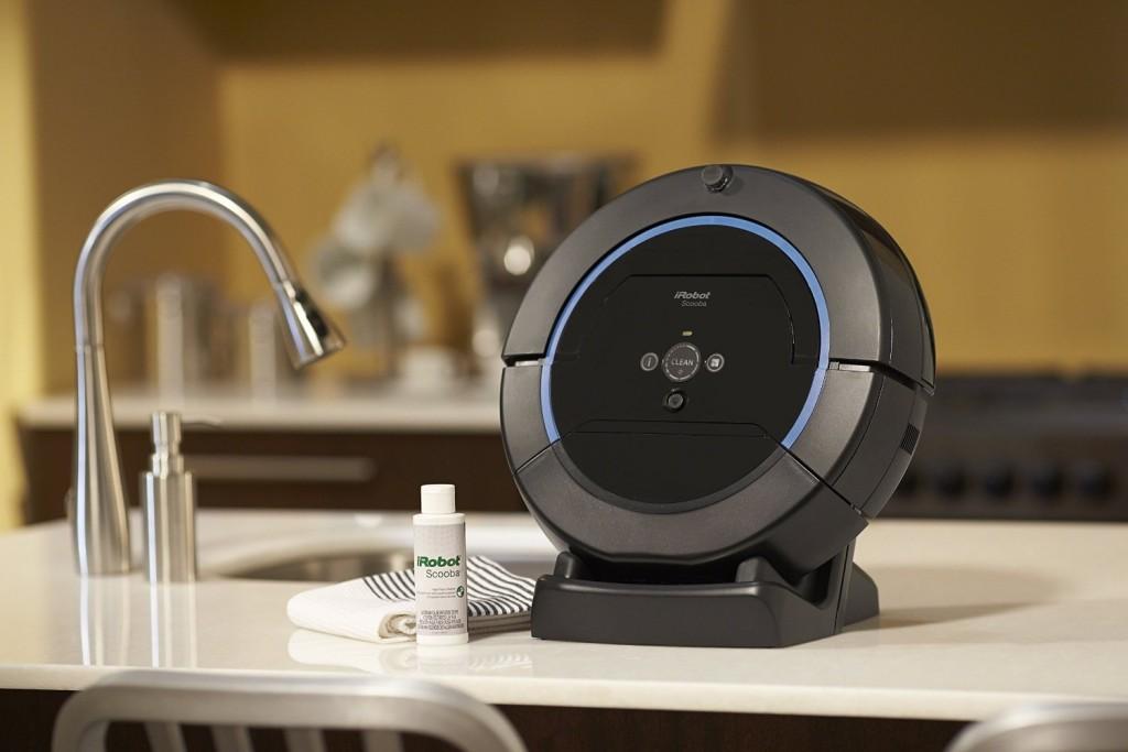 robot aspirateur laveur : iRobot Scooba 450 Test et Avis