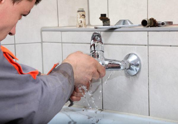 Réparer les fuites d'eau