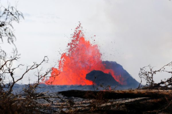 Le Kilauea à Hawaï