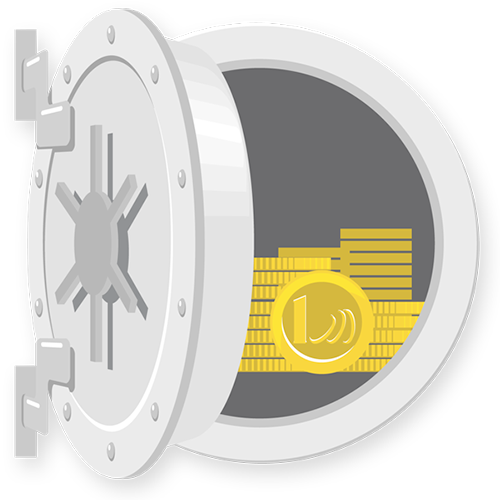 Achetez et vendez des pièces or et argent avec garde en coffres sur AuCOFFRE